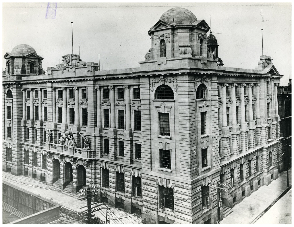 ... Wellington General Post Office, Opened November 26 1912 | By Archives New  Zealand