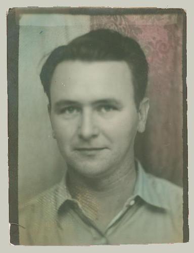 Photobooth man