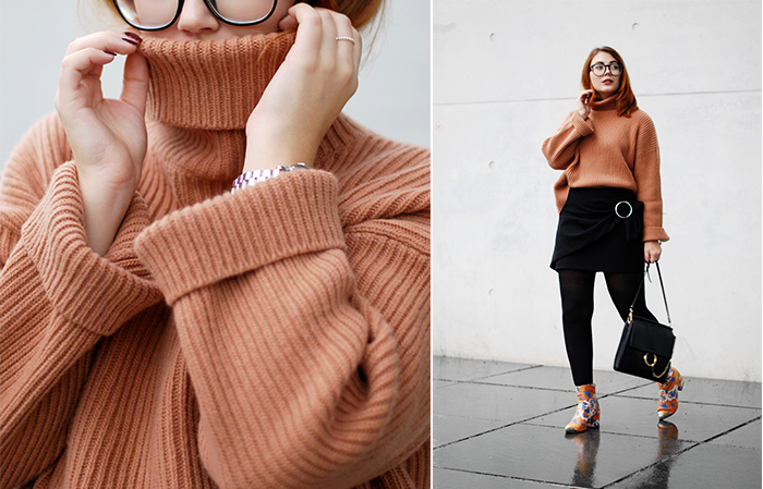 Turtleneck-wrap-skirt