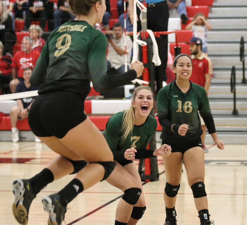 Scottsdale Artichokes Volleyball Wins Region I Championshi Flickr
