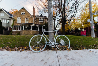 Toronto ghost bike | by AshtonPal