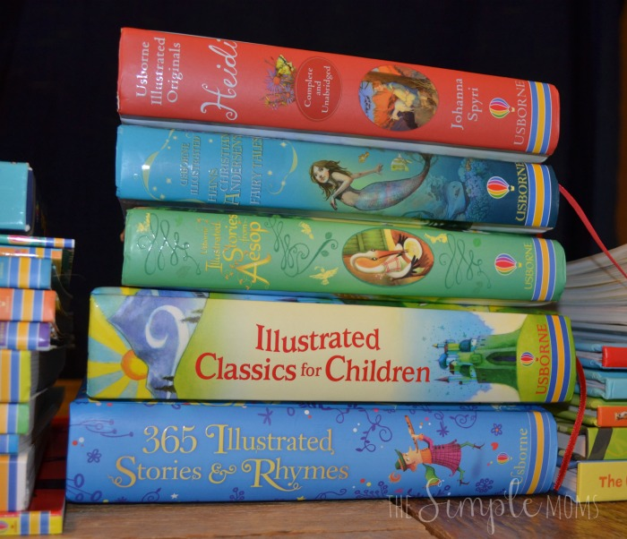 Usborne Books illustrated stories