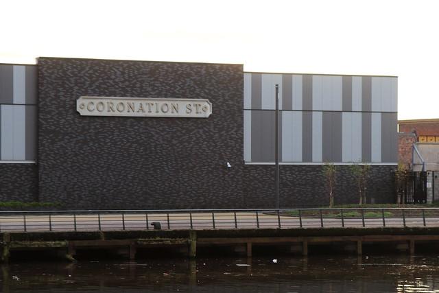 Coronation St, Salford Quays