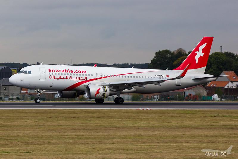 Air Arabia - A320 - CN-NMJ (1)