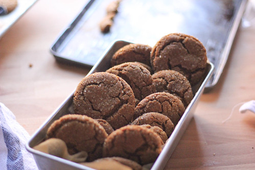 Molasses Cookies| Southern Soufflé | by Erika-SouthernSouffle