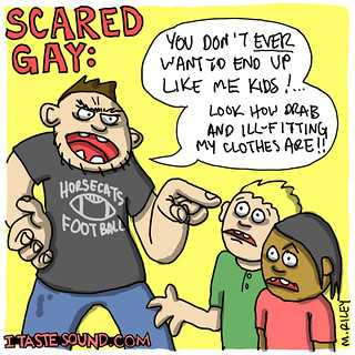 scared_gay | by Mike Riley