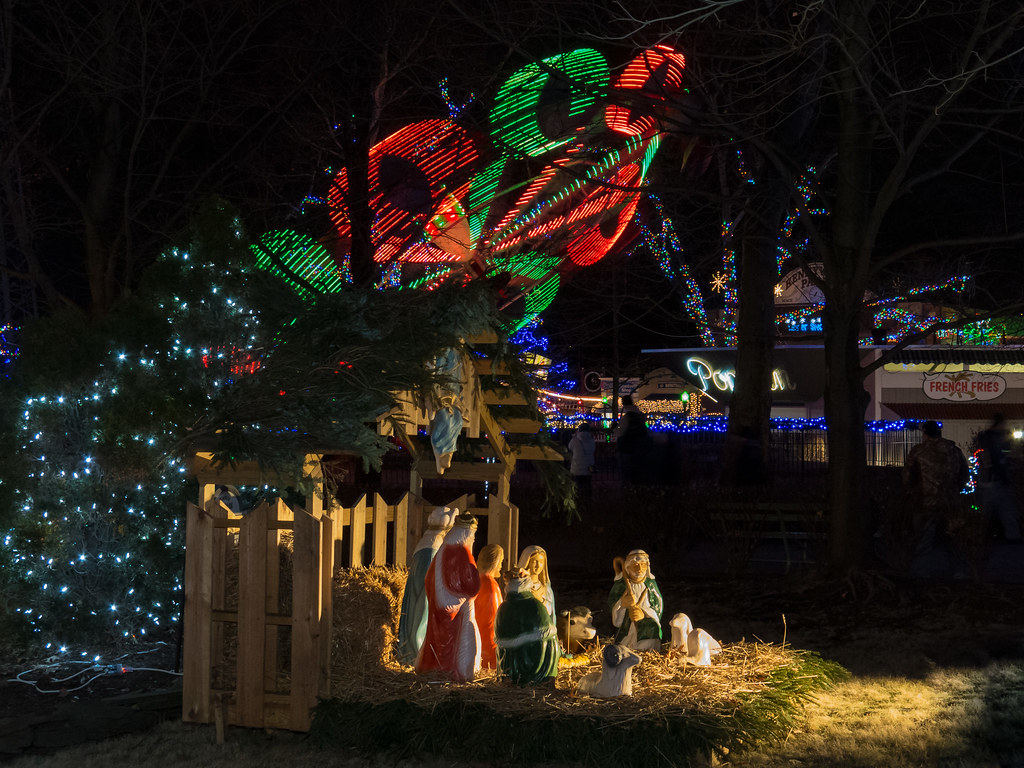 Nativity | Kennywood Holiday Lights 2014. | Brian Gallo | Flickr
