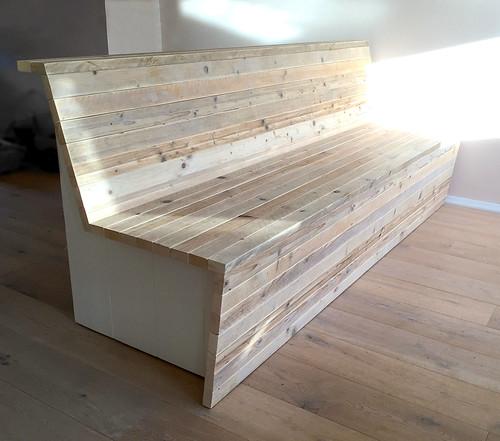 Zitbank 39 lighten 39 steigerhout te koop bij w00tdesign for Steigerhout zitbank