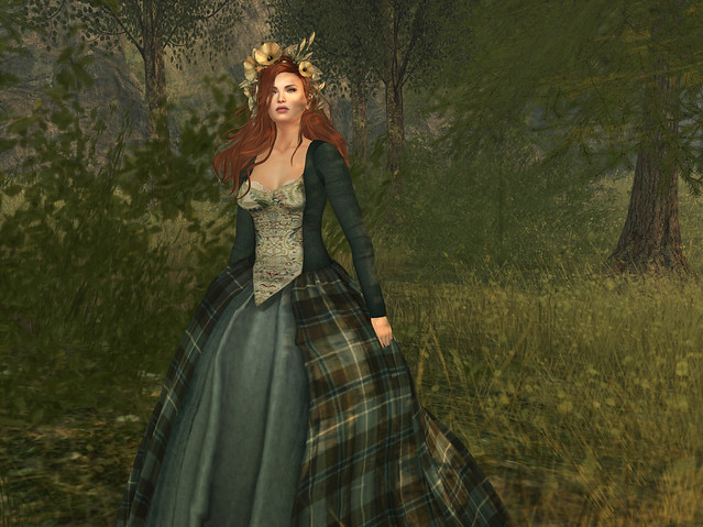 Lady Broch Tuarach Gown, Moors, Silvan Moon Designs