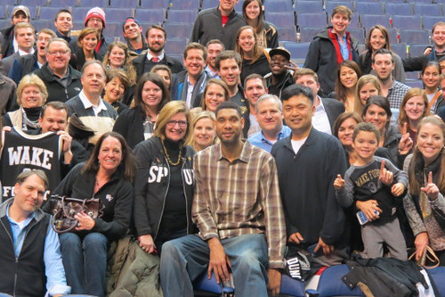 DC_SpursGame | by WFU Alumni, Parents & Friends