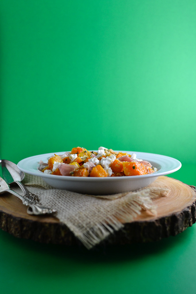 Brown Buttered Squash with Prosciutto and Goat Cheese | Things I Made Today