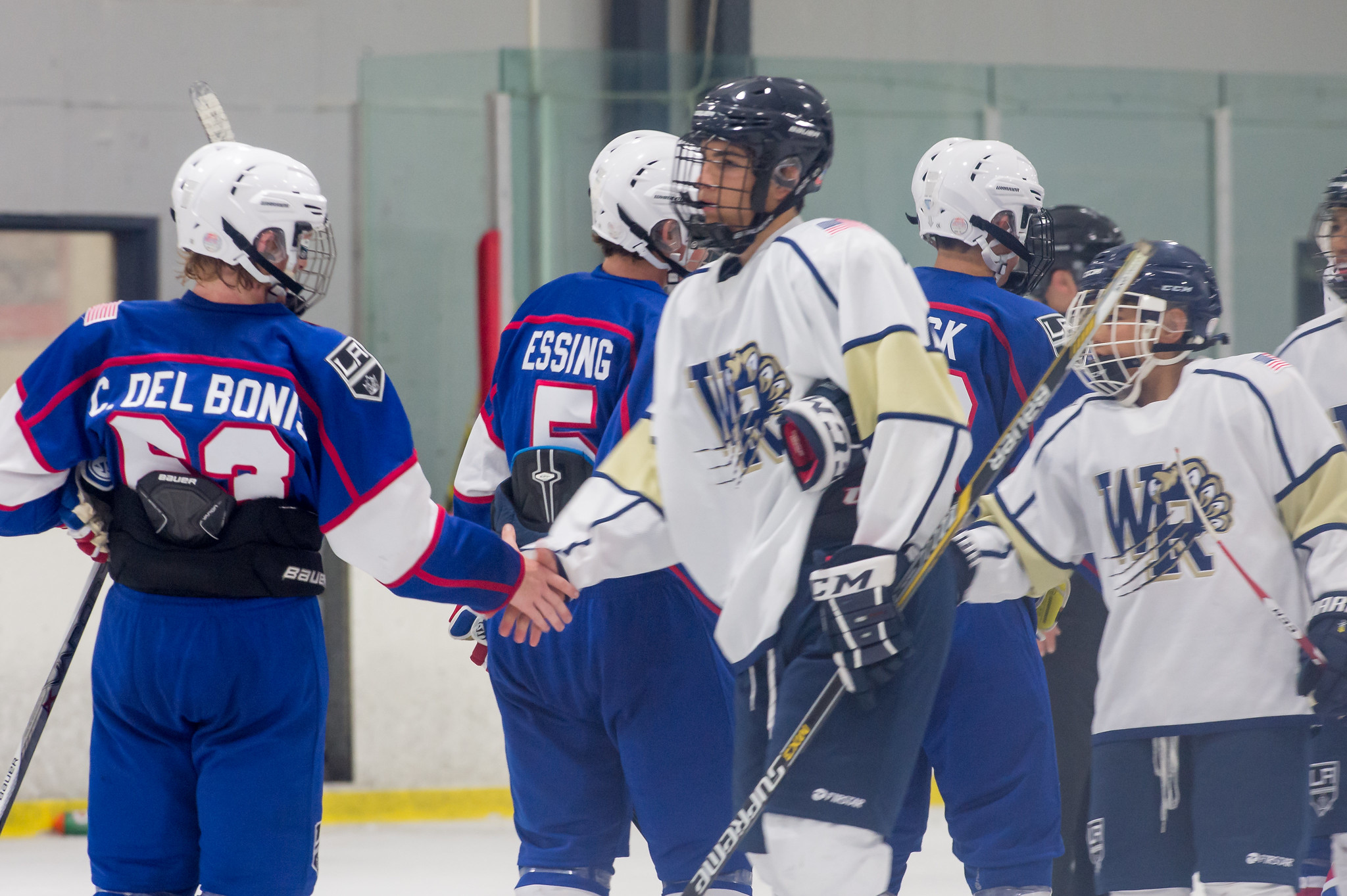 CA H.S.: Tryouts Begin For Kings High School Hockey League