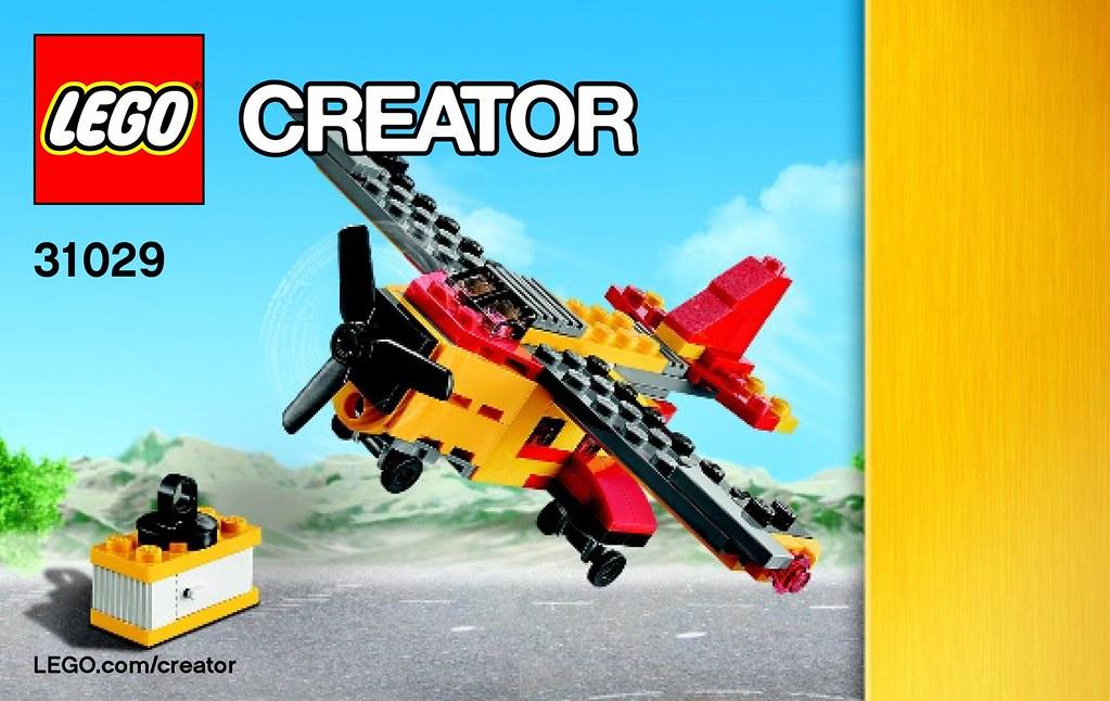 Lego Club Build Instructions For 31029 Lego Creator Cargo Flickr