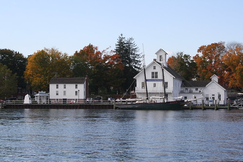 Essex, CT from the river