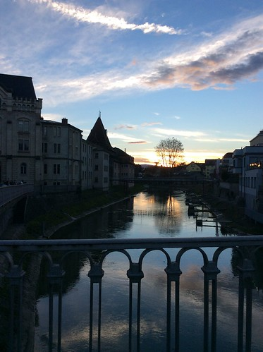 Yverdon-les-Bains, canal de la Thièle