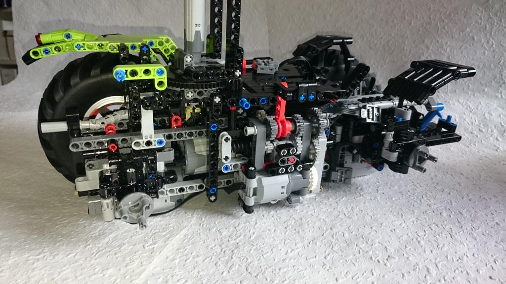Moc Lego Xerion Frame   JB Technic   Flickr