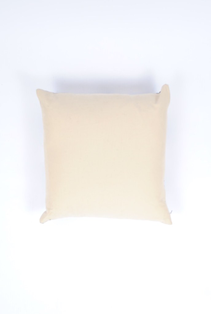 Square Silk and Cotton Pillow