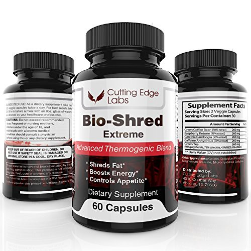Bio Shred Extreme Weight Loss Pills To Burn Fat Fast Supp Flickr