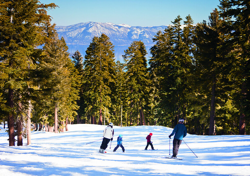 Skiing at The Ritz-Carlton, Lake Tahoe