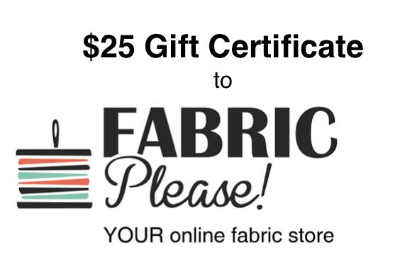 $25 Gift Cert w Logo
