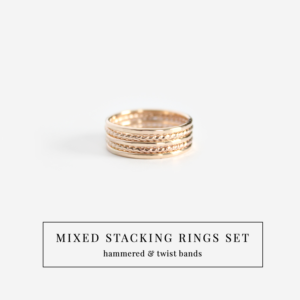 mixed stacking rings