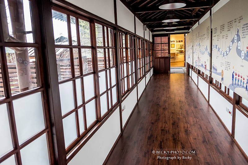 2016.Oct old building @Taoyuan,Taiwan大溪老房子.四連棟
