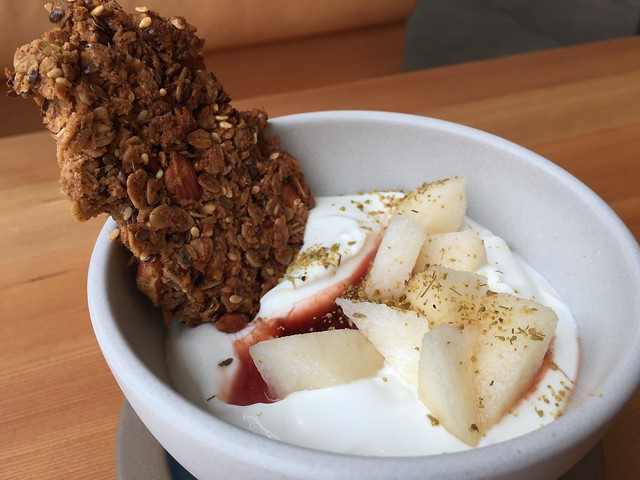 Greek Yogurt, Liz'Granola, Fruit (Wheat Free)
