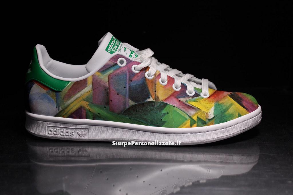 ... ScarpePersonalizzate adidas-stan-smith-personalizzate-arte-astratta-5 | by ScarpePersonalizzate