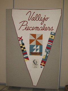 The Vallejo Piecemakers Quilt Banner | by vallejopiecemakers
