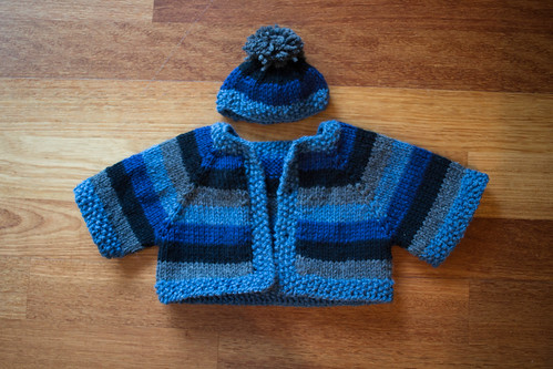 Teddy Bear Sweater for Camp Erin | by Terriko