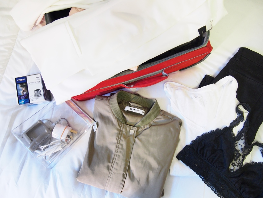 City trip packing list