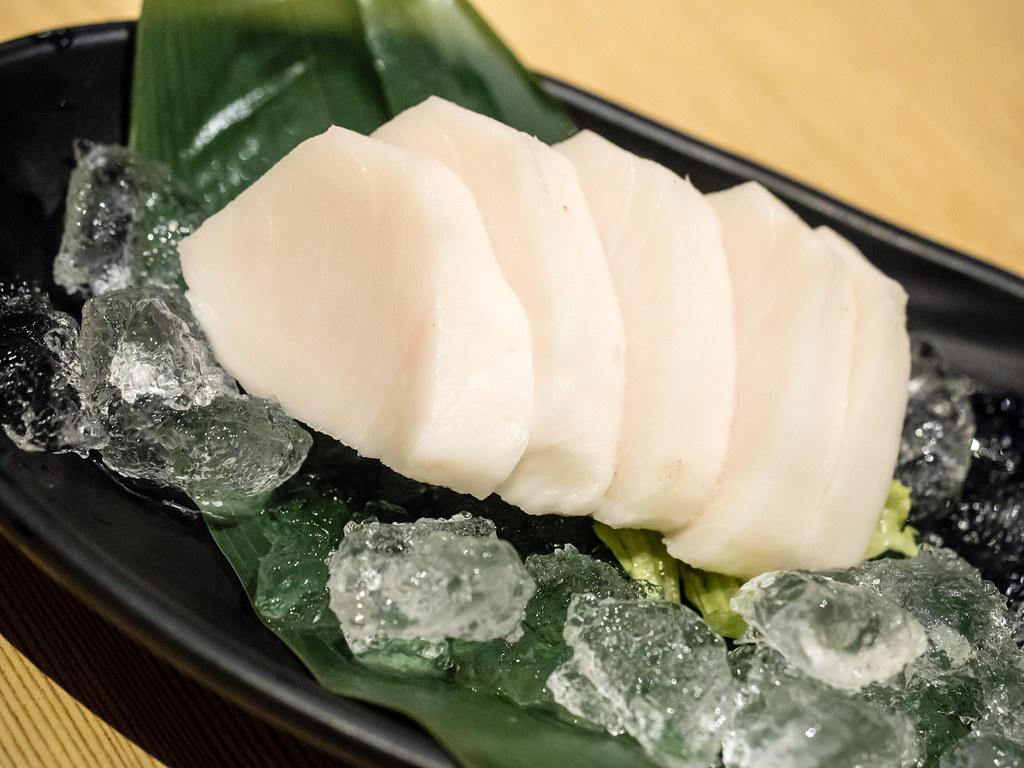 Aoki-tei's Shiro Maguro Shashimi (Butter fish)