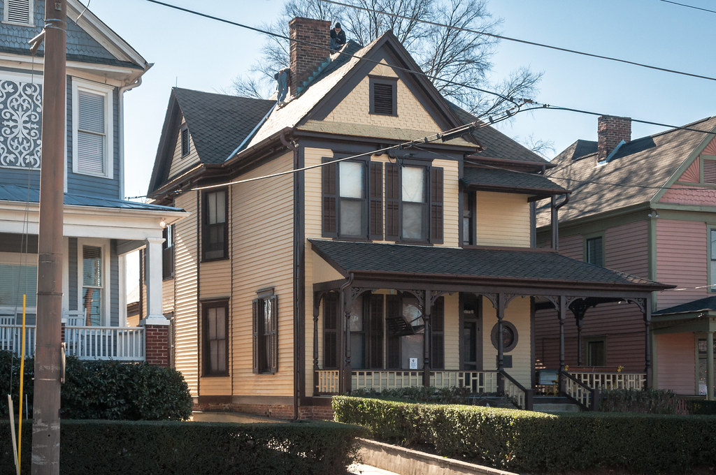 Martin Luther King Birth Home 1895 View01 501 Auburn A Flickr
