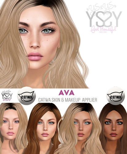 *YS&YS* Ava Appliers for Catwa Heads | by Monicuzza Babenco *YS&YS*