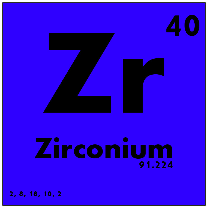 040 zirconium periodic table of elements subscribe to ou flickr 040 zirconium periodic table of elements by science activism urtaz Image collections