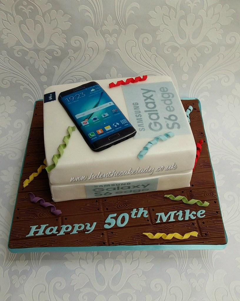 Galaxy S6 Mobile Phone Birthday Cake Helen Flickr