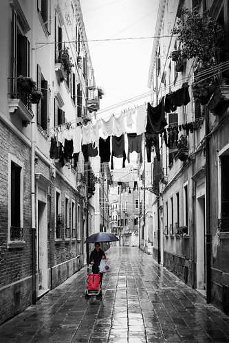 Venice Laundry hanging out to dry... | by ScopPics