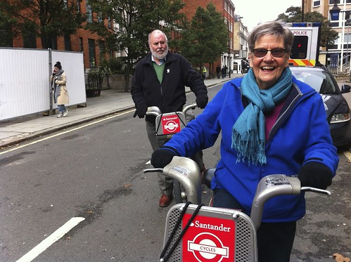 Folks on bikes | by Carol Green