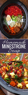 Homemade-Minestrone-Soup-2 | by littlespicejar
