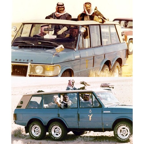 Classic Land Rover Parts: Range Rover Classic 6X6 Used For Falconry By Late King Kha