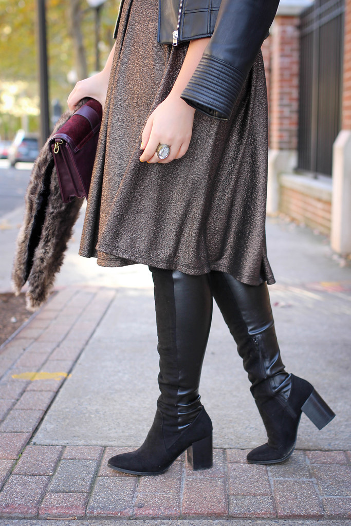 Living After Midnite 2 Ways To Wear Over The Knee Boots