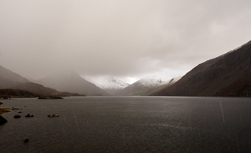 Wasdale hailstorm | by Alf Branch