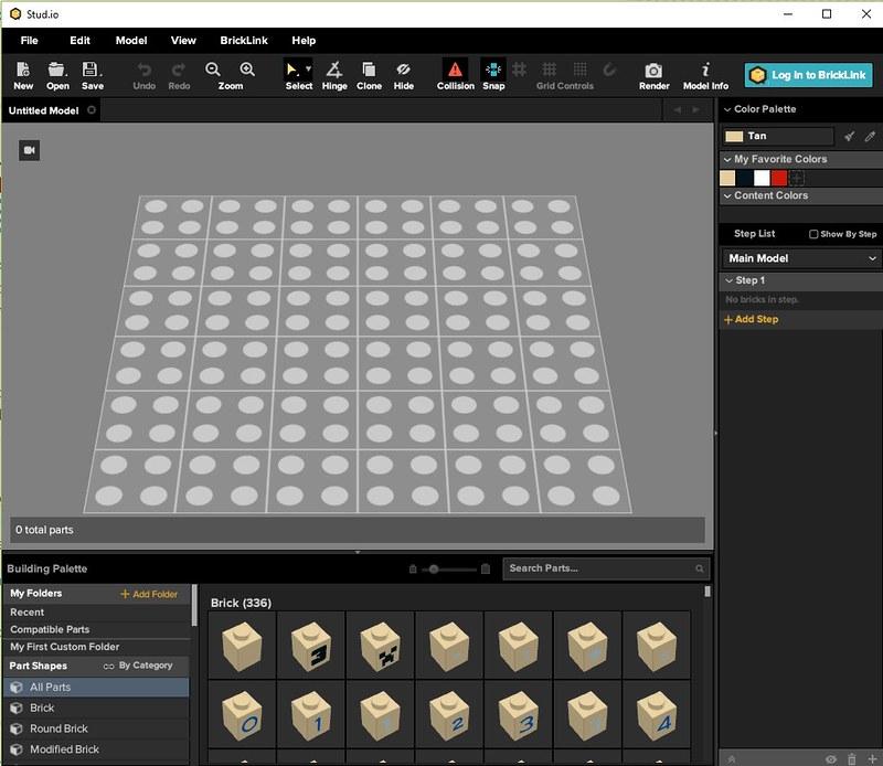 Building with Stud io | Brickset: LEGO set guide and database