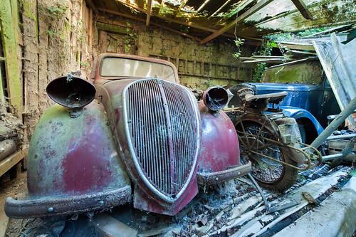 la patience est m re de toutes les vertus lost old cars flickr. Black Bedroom Furniture Sets. Home Design Ideas