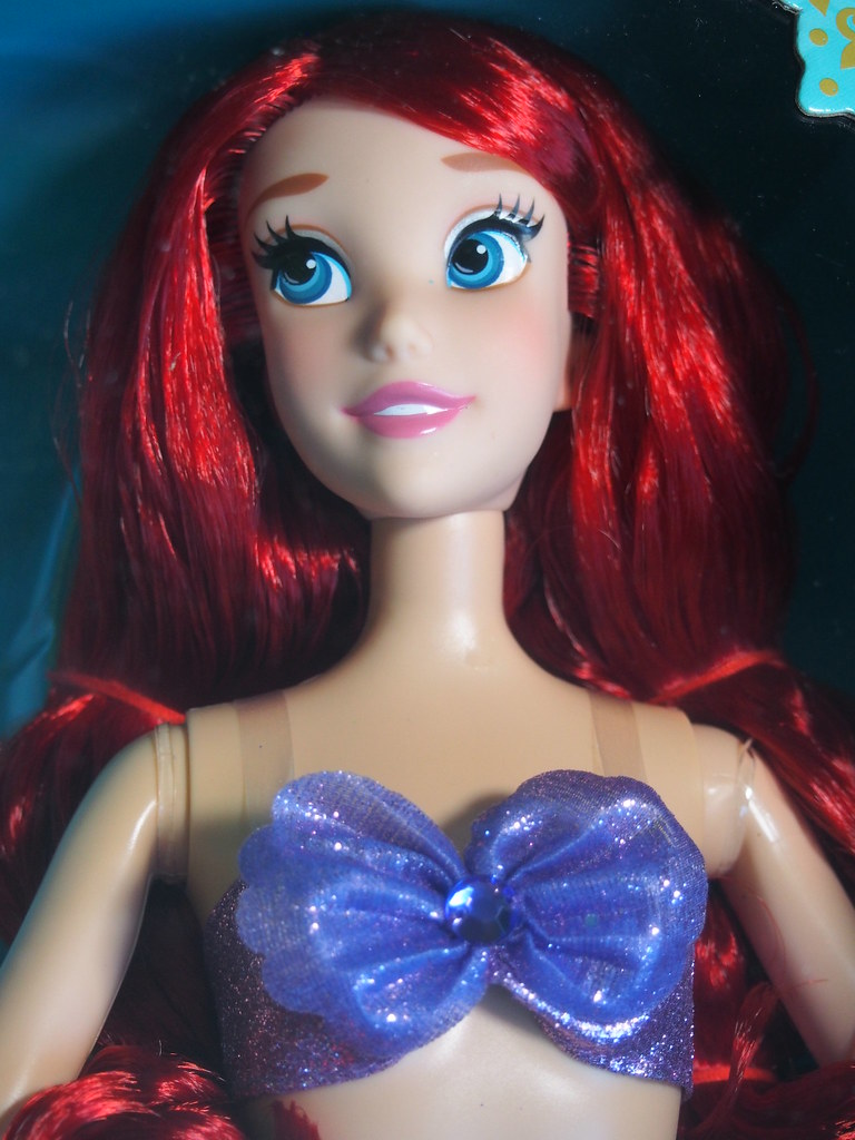 arielle barbie puppe