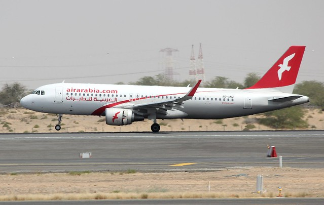 AIR ARABIA 320-200 A6-ANZ(cn6166)
