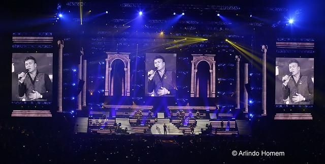 Tony Carreira - Tour 2016, Meo Arena, Lisboa , 3 de Dezembro de 2016.