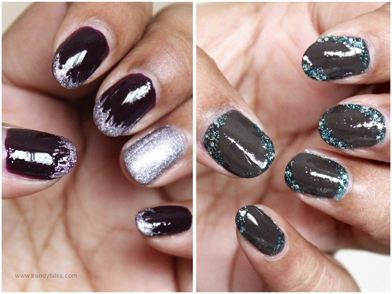 Easy glitter nail art 2 french manicure with a twist flickr easy glitter nail art 2 french manicure with a twist by sarojasegu solutioingenieria Images
