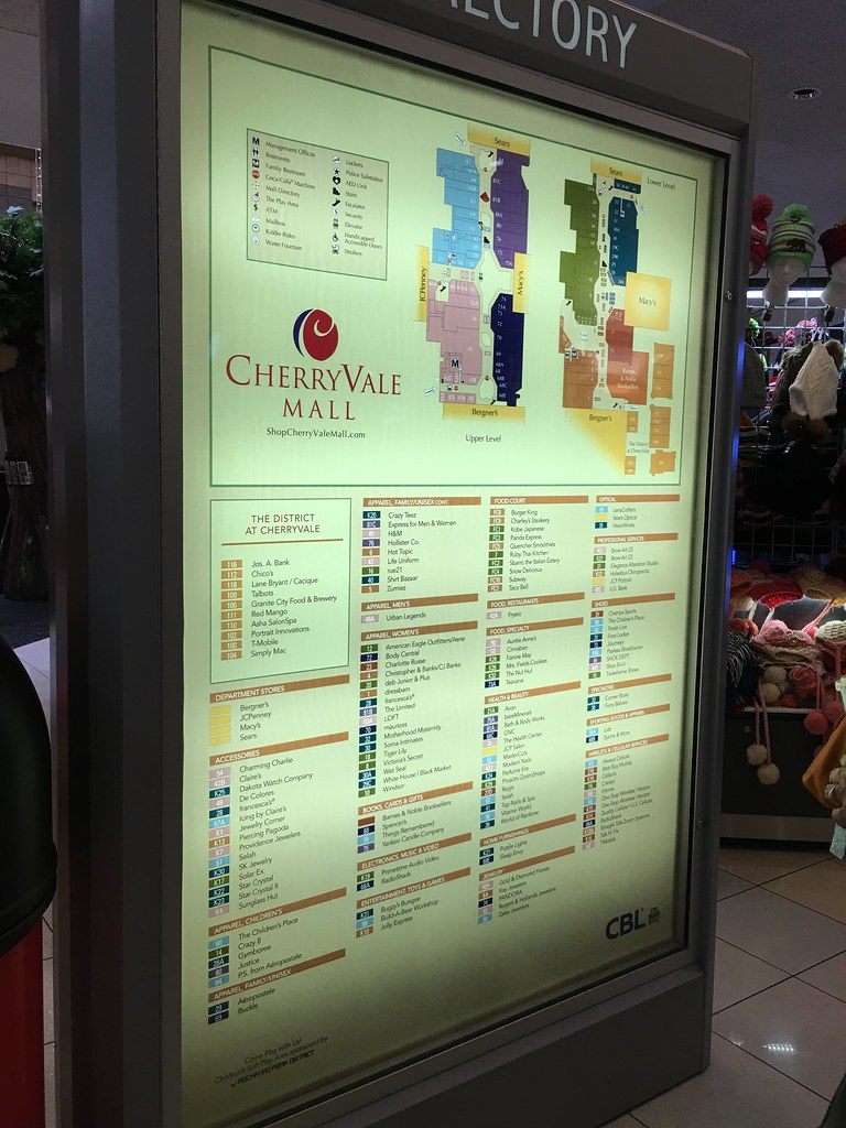 Cherryvale Mall Map CherryVale Mall   Rockford, Illinois   Mall Directory | Flickr Cherryvale Mall Map