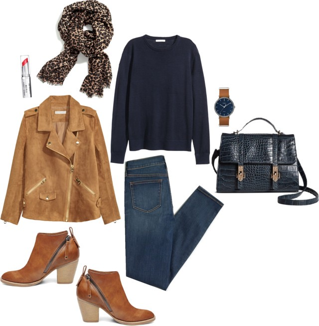 What I Wish I Wore, Vol. 158 - Navy and Tan, Tan and Navy | Style On Target blog